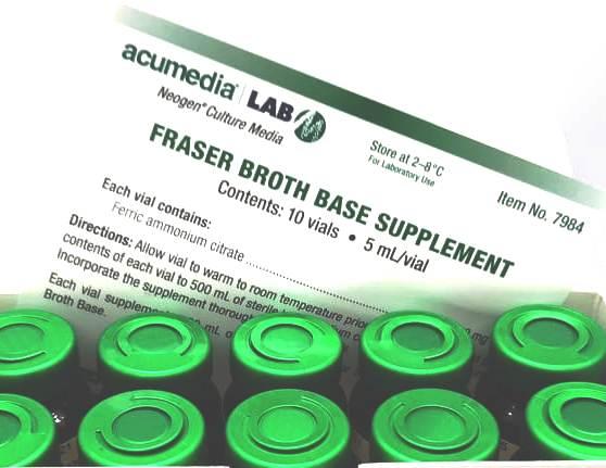 Suplemento Caldo Fraser Base (ISO) 7984 Fraser Broth Base Supplement