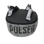 Almofada de Impacto Curva - Preto e Cinza - Pulser