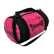 Bolsa Kimono Muay Thai Boxe Fitness Academia - Média - Rosa - Thunder
