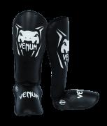 Caneleira Muay Thai Kickboxing Contender- G - Preto - Venum