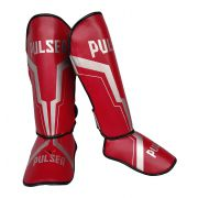 Caneleira Tradicional Muay Thai MMA Vermelha Iron 20mm - Pulser