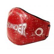Cinturão para Muay Thai / Boxe Vermelho - Thunder Fight
