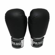 Luva de Boxe / Muay Thai 16oz - Preto - Pulser