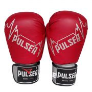 Luva de Boxe / Muay Thai 12oz - Vermelho Pulser -Pulser