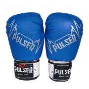 Luva de Boxe / Muay Thai 12oz - Azul Pulser - Pulser