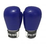 Luva de Boxe / Muay Thai 14oz - Azul - Pulser