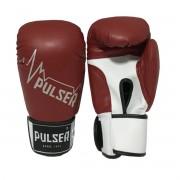 Luva de Boxe / Muay Thai 14oz - Vermelho Pulsar - Pulser