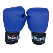 Luva de Boxe / Muay Thai 8oz - Azul - Thunder Fight