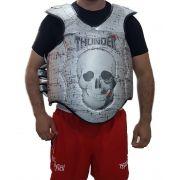 Protetor de Tórax Colete Super Reforçado Muay Thai / Boxe - Thunder Fight