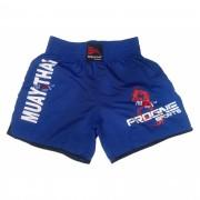 Shorts Bermuda Calção Treino Academia Top Muay Thai Azul Masculino - Progne