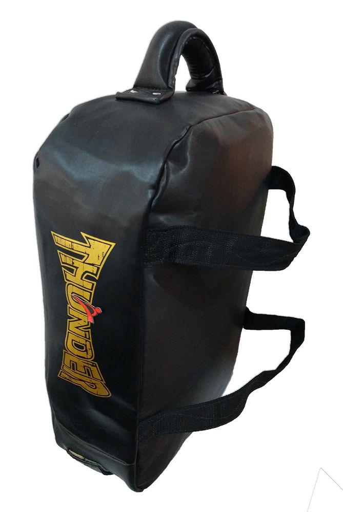 Almofada de Impacto / Aparador de Chute Grande - Preto - Thunder Fight  - PRALUTA SHOP