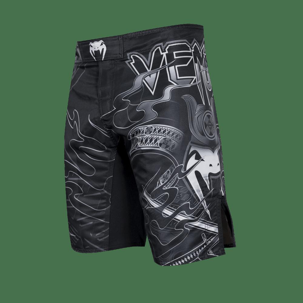 Bermuda FightShort MMA - Preto - Samurai - Venum  - PRALUTA SHOP