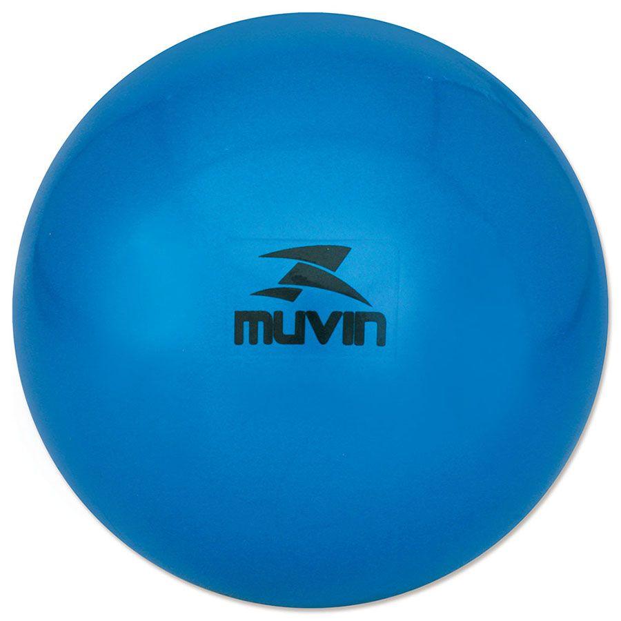Bola de Pilates Overball 20 Cm - Azul - Muvin  - PRALUTA SHOP