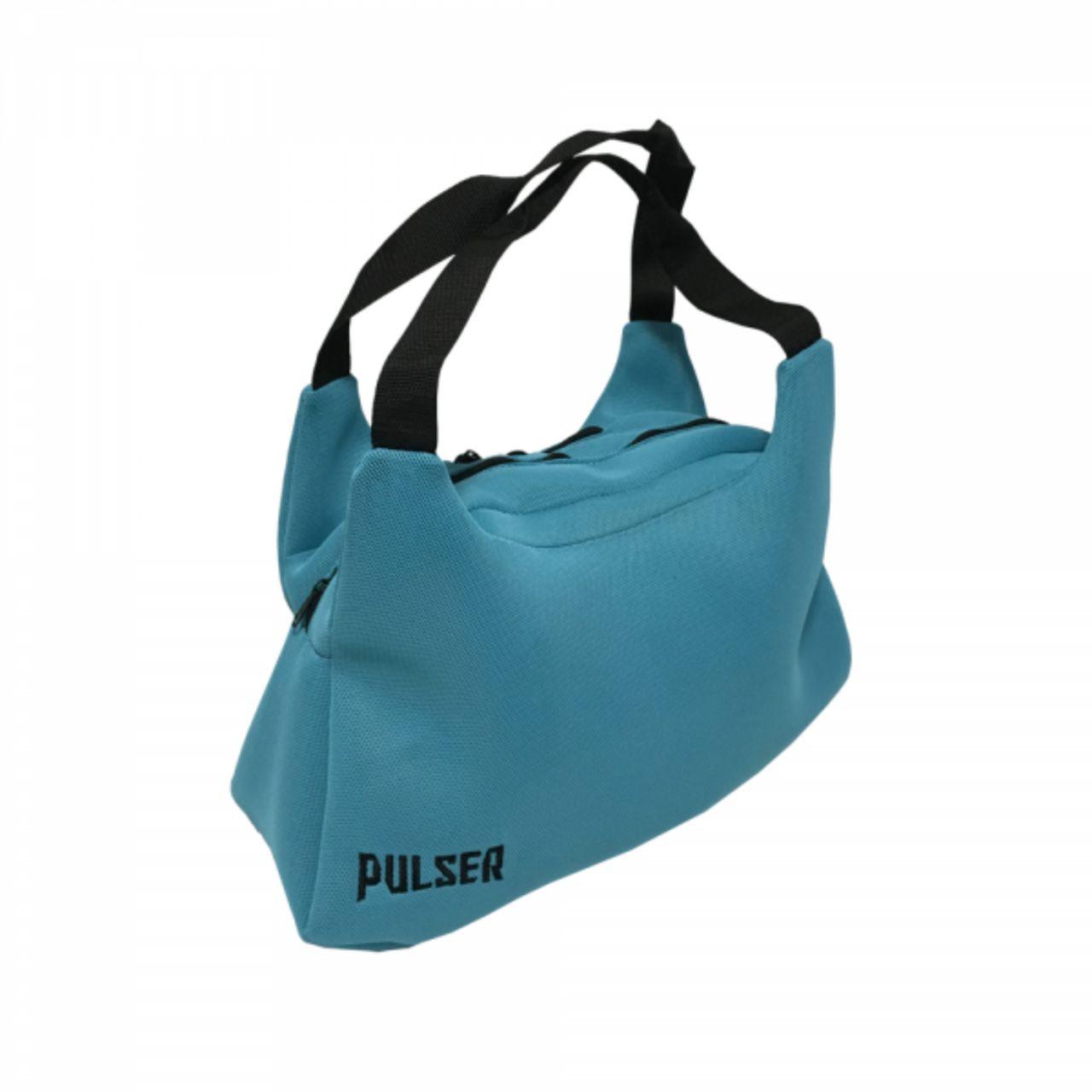 Bolsa Esportiva Academia Fitness Treino - Azul Claro - Pulser  - PRALUTA SHOP