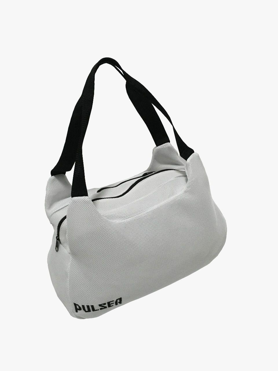 e5a151aa0 Bolsa Esportiva Academia Fitness Treino - Branco - Pulser - PRALUTA SHOP