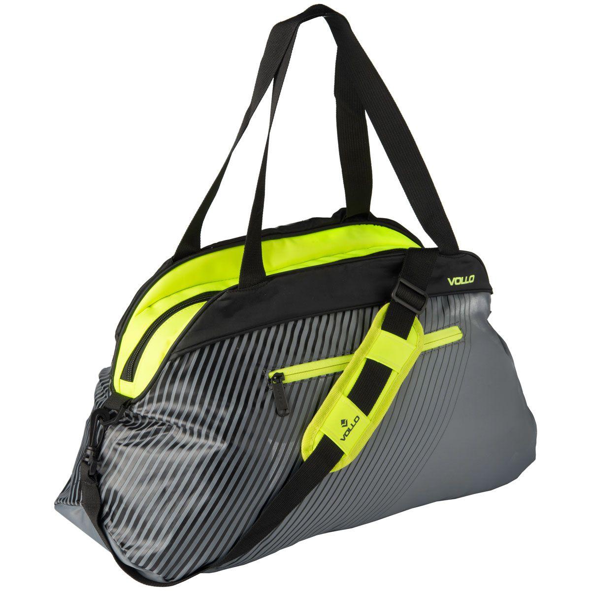 Bolsa Esportiva Academia Fitness Treino - Cinza - Vollo  - PRALUTA SHOP
