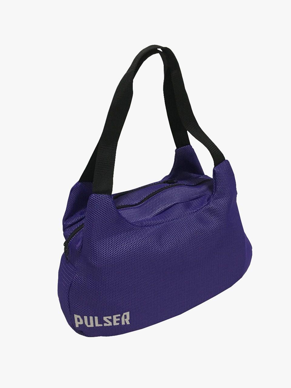 Bolsa Esportiva Academia Fitness Treino - Roxo - Pulser  - PRALUTA SHOP