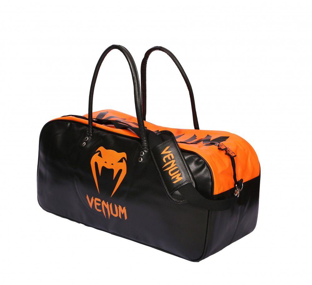 Bolsa Kimono Muay Thai Boxe Fitness Academia - Grande - Preto com Laranja - Venum  - PRALUTA SHOP