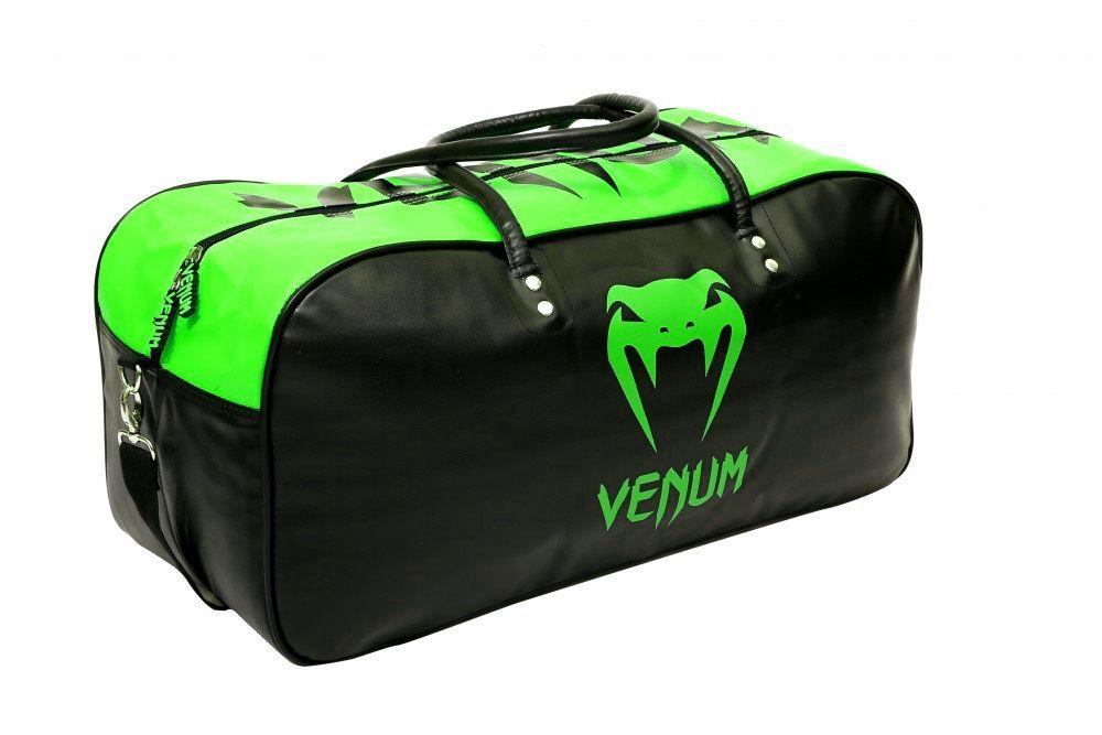521bcdb0f Bolsa Kimono Muay Thai Boxe Fitness Academia - Grande - Preto com Verde -  Venum -