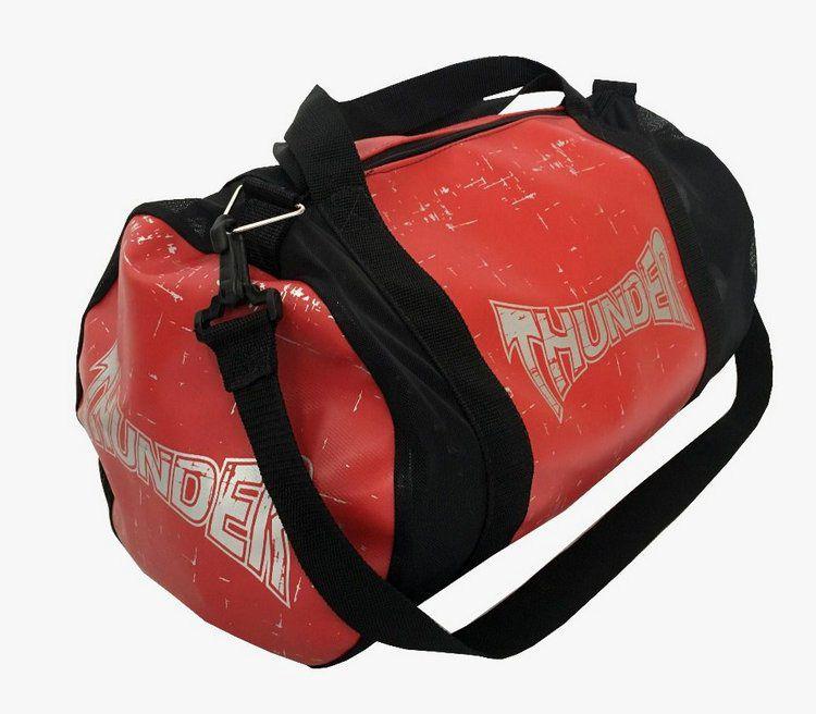 Bolsa Kimono Muay Thai Boxe Fitness Academia - Média - Vermelha - Thunder  - PRALUTA SHOP