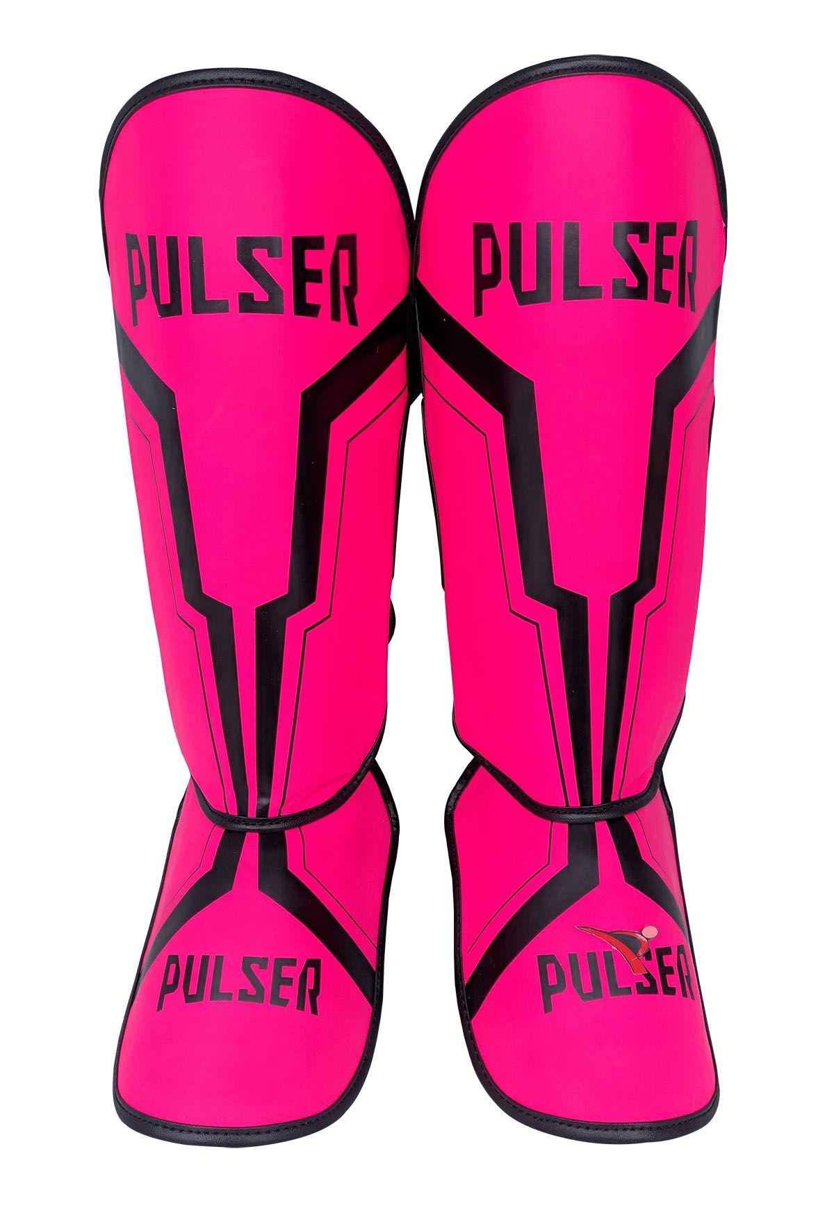 Caneleira Feminina Muay Thai MMA Rosa Iron 20mm - Pulser  - PRALUTA SHOP