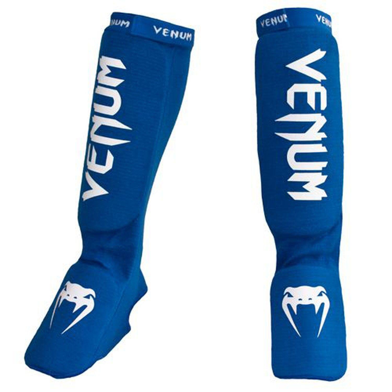 Caneleira Muay Thai Kickboxing Kontact Gel - Azul - Venum  - PRALUTA SHOP