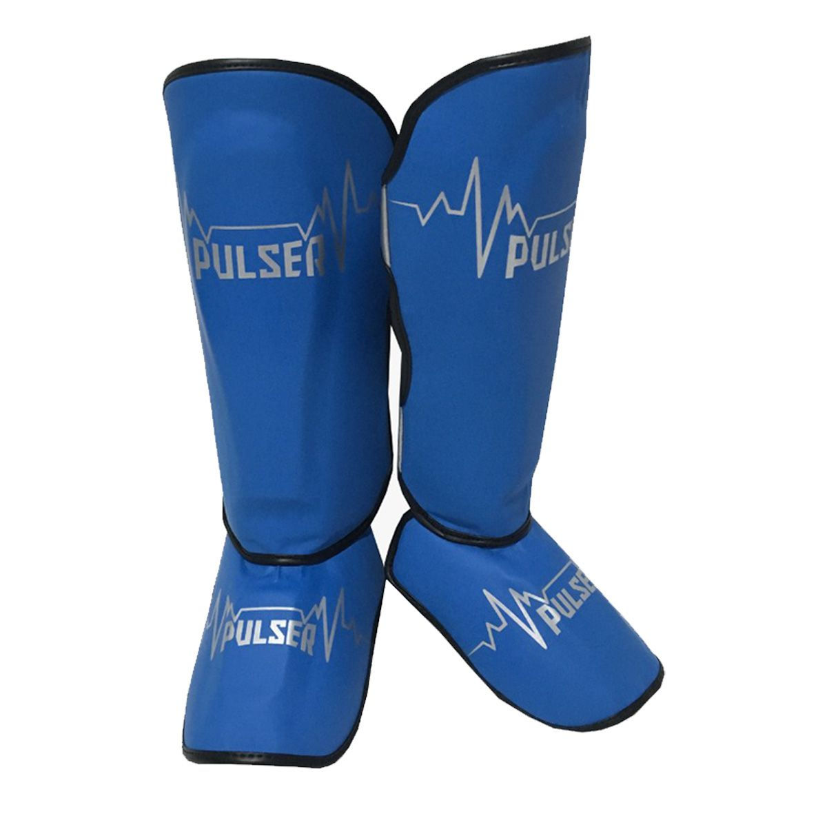 Caneleira Muay Thai MMA Pulsar Azul Claro Média 30mm - Pulser  - PRALUTA SHOP
