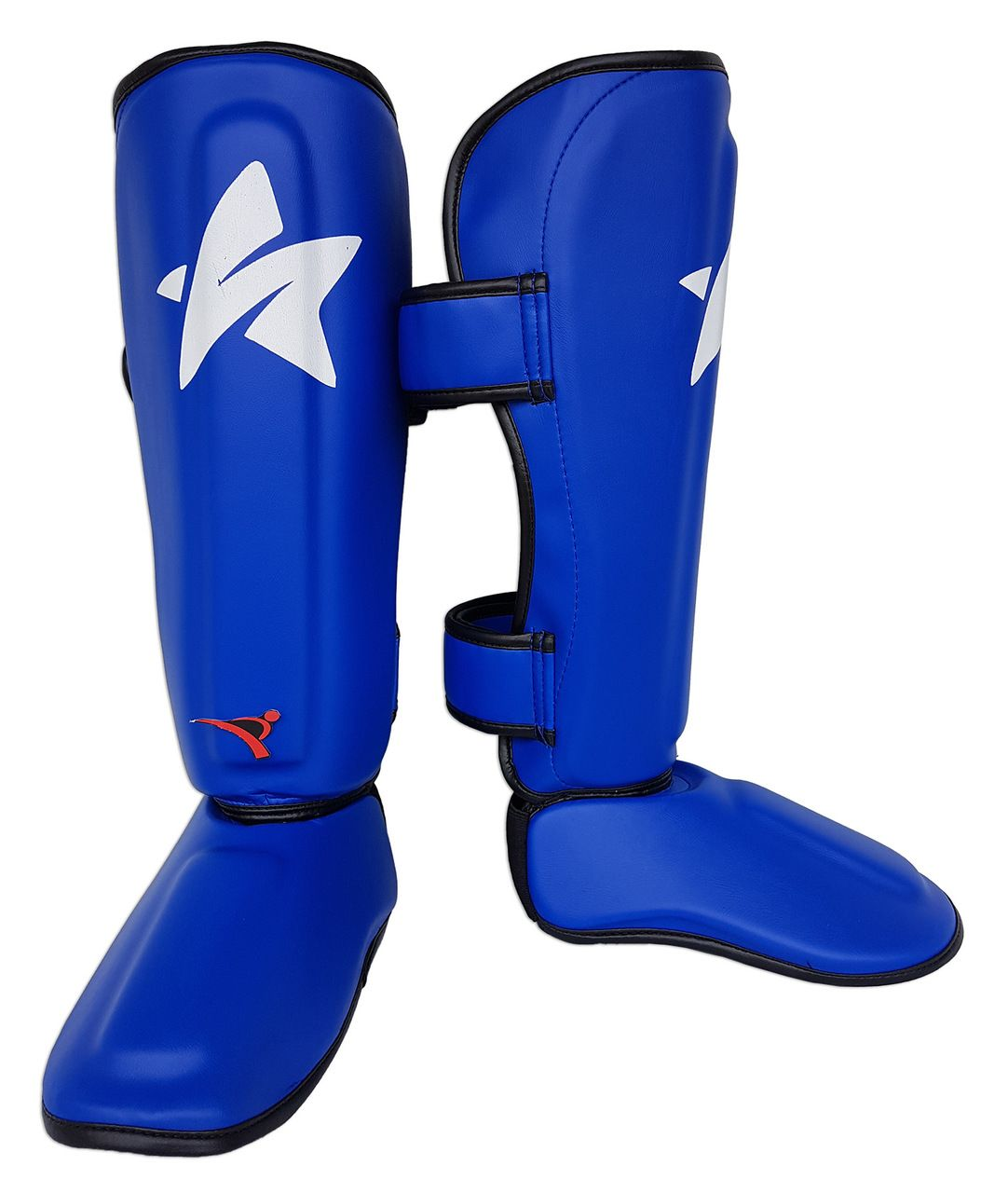 Caneleira Tradicional Muay Thai MMA Azul Ultra Light - SulSport  - PRALUTA SHOP