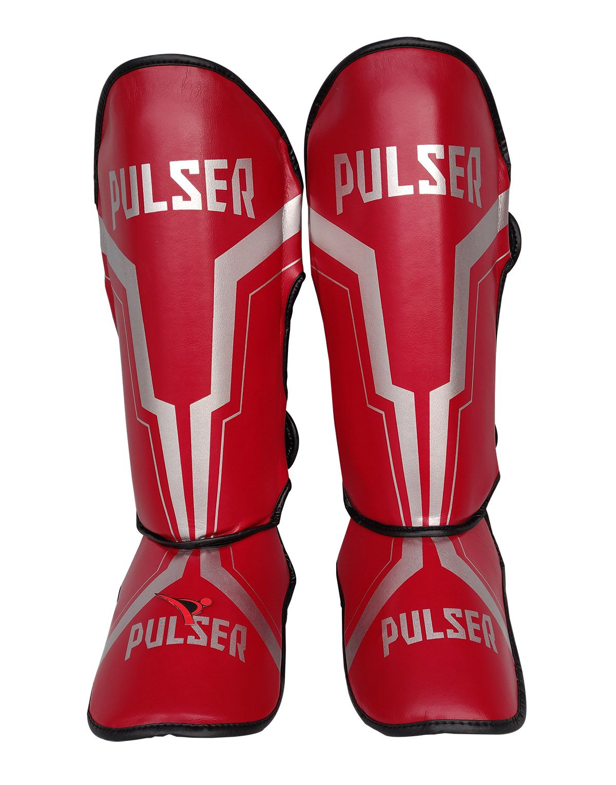 Caneleira Tradicional Muay Thai MMA Vermelha Iron 20mm - Pulser  - PRALUTA SHOP