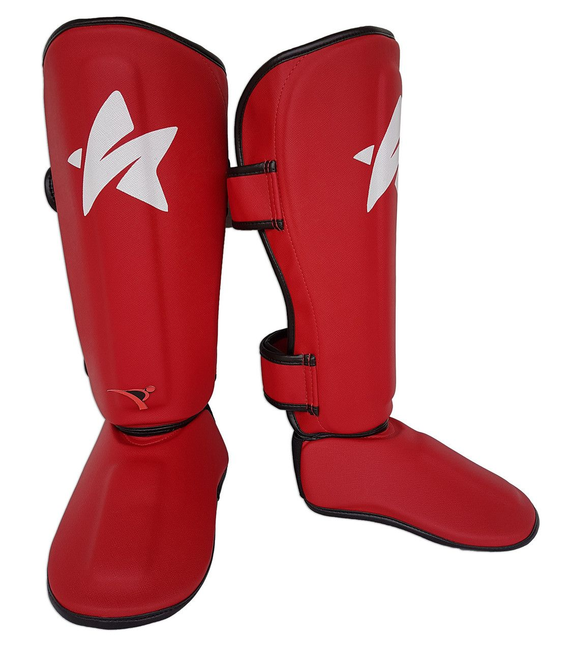 Caneleira Tradicional Muay Thai MMA Vermelha Ultra Light - SulSport  - PRALUTA SHOP