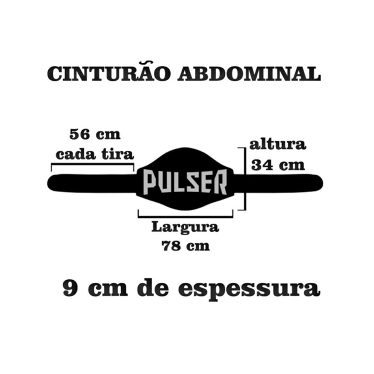 Cinturão para Muay Thai / Boxe - Cinza Escuro - Pulser  - PRALUTA SHOP