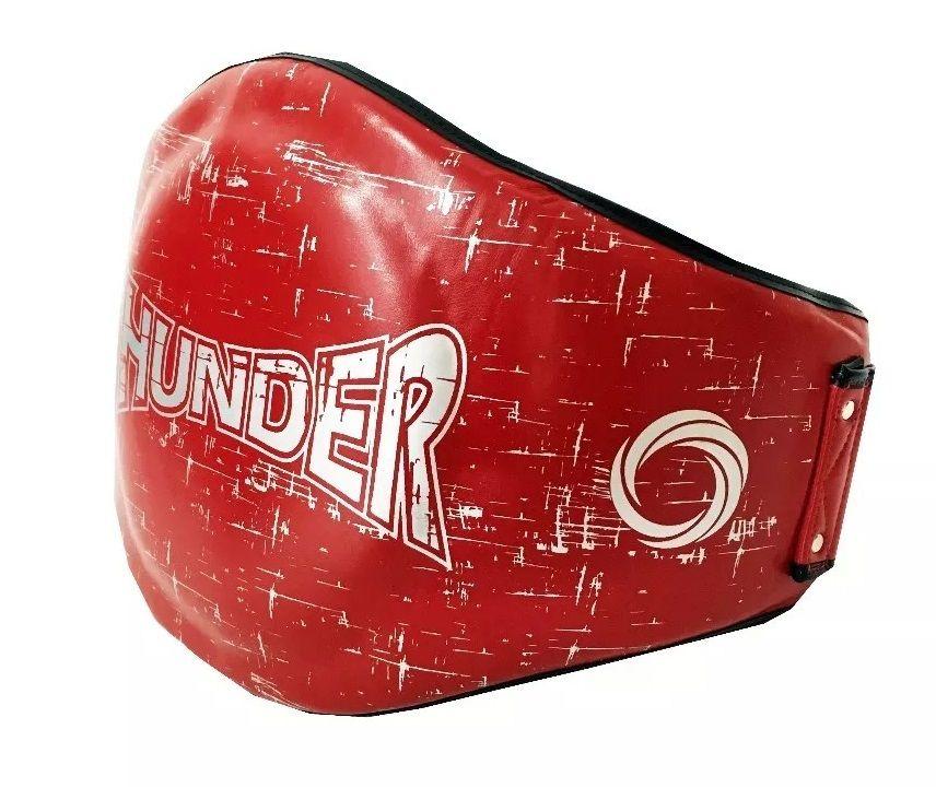 Cinturão para Muay Thai / Boxe Vermelho - Thunder Fight  - PRALUTA SHOP
