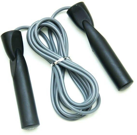Corda De Pular Com Rolamento Treino Crossfit Fitness CInza - LiveUp  - PRALUTA SHOP