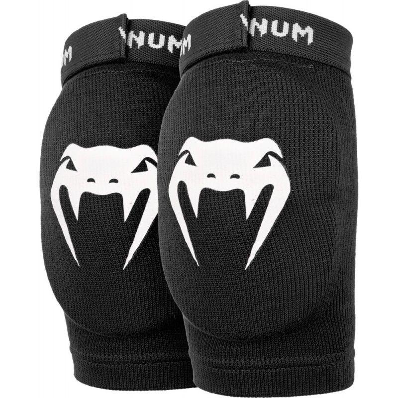Cotoveleira Muay Thai Protetor Kontact - Preto -Venum  - PRALUTA SHOP