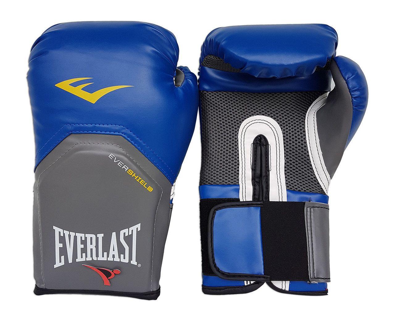 Kit de Boxe / Muay Thai 14oz - Azul - Pro Style - Everlast  - PRALUTA SHOP
