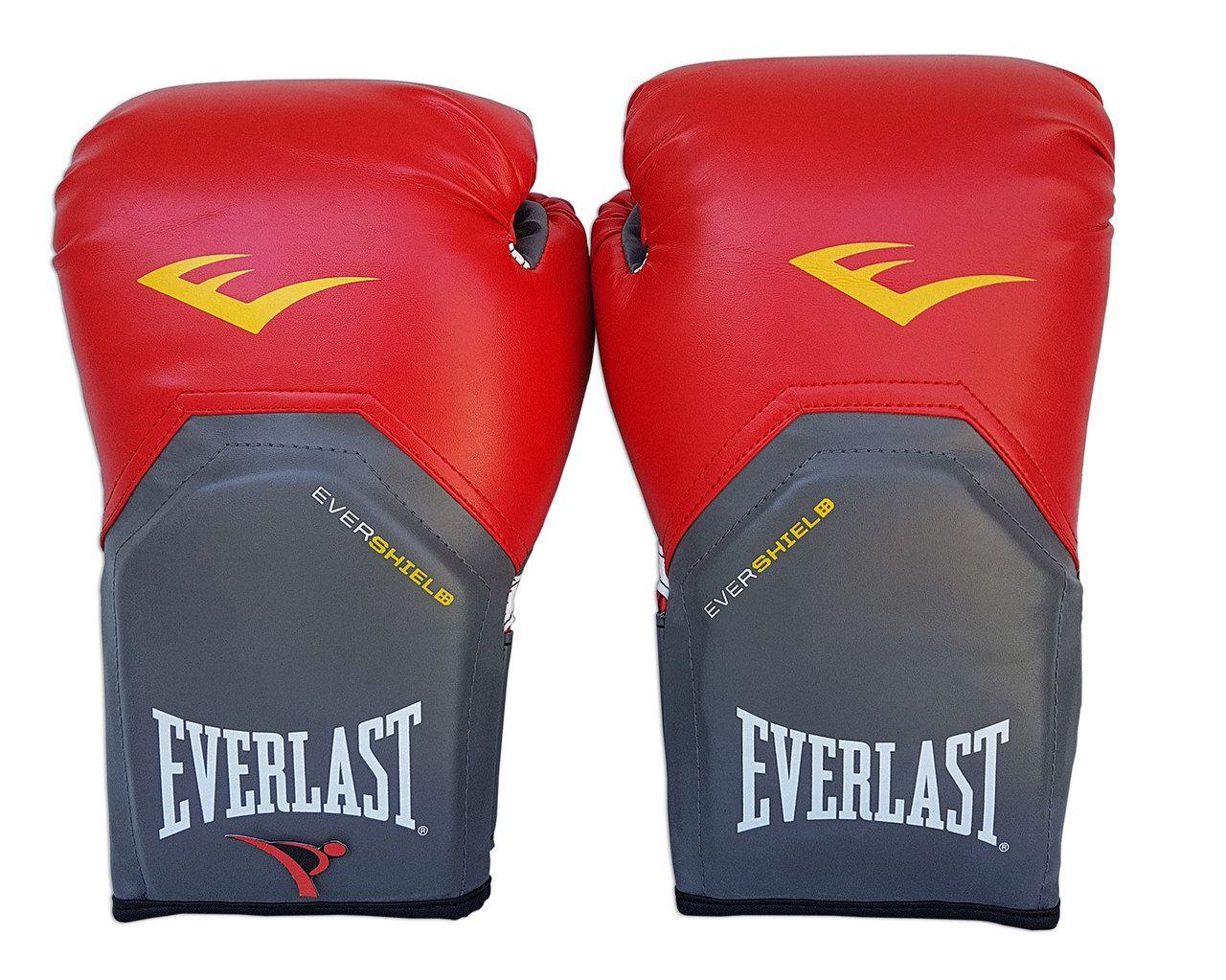 Kit de Boxe / Muay Thai 14oz - Vermelho - Pro Style - Everlast  - PRALUTA SHOP