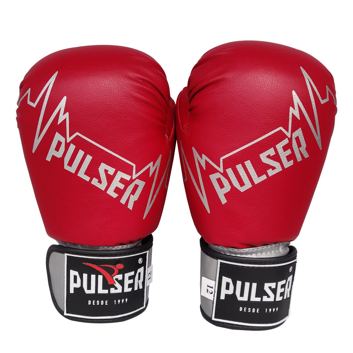Kit de Boxe / Muay Thai 14oz - Vermelho Pulser Logo - Pulser  - PRALUTA SHOP