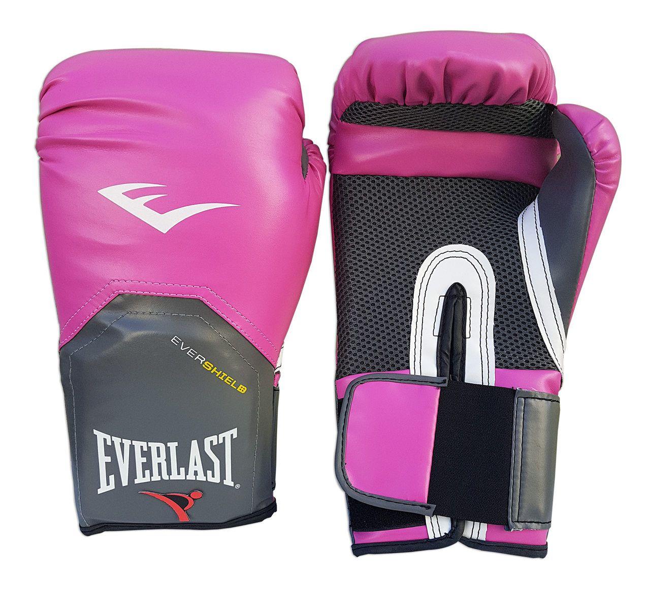 Kit de Boxe / Muay Thai Feminino 12oz - Rosa - Pro Style - Everlast  - PRALUTA SHOP