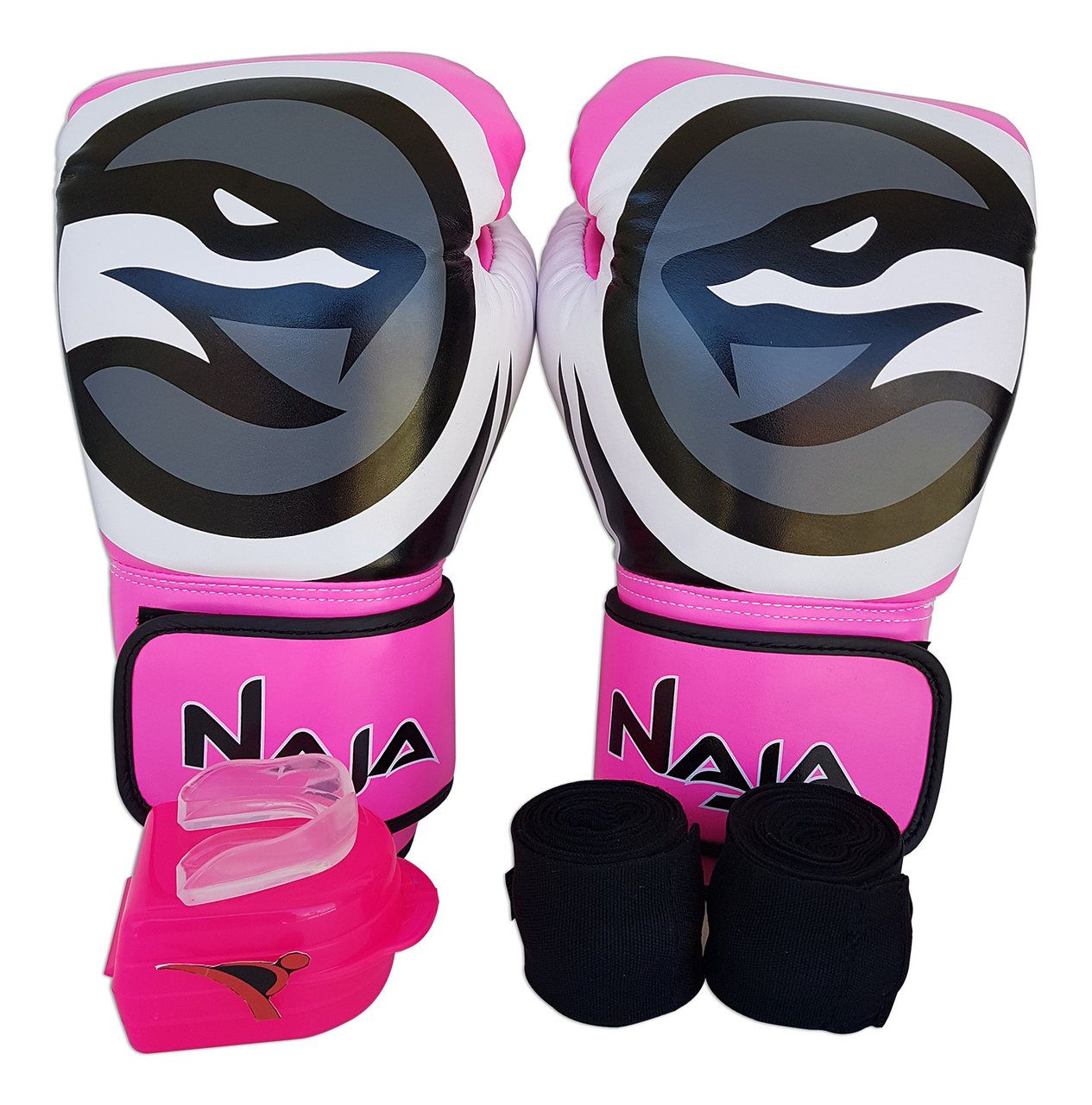 Kit De Boxe / Muay Thai Feminino 14oz - Pink - Colors - Naja  - PRALUTA SHOP
