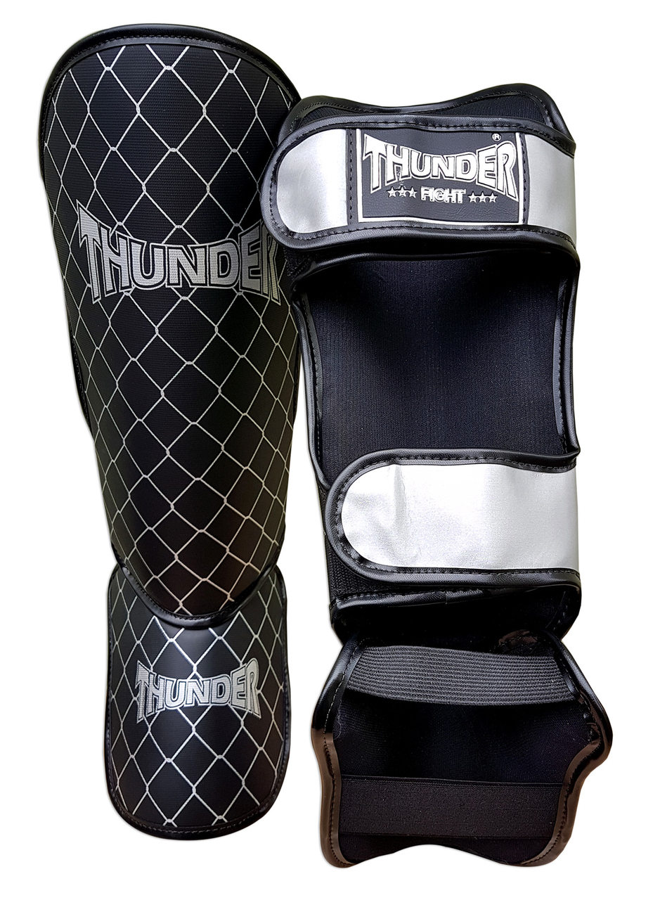 Kit de Muay Thai / Kickboxing 10oz - Caveira / Cruz - Thunder Fight  - PRALUTA SHOP