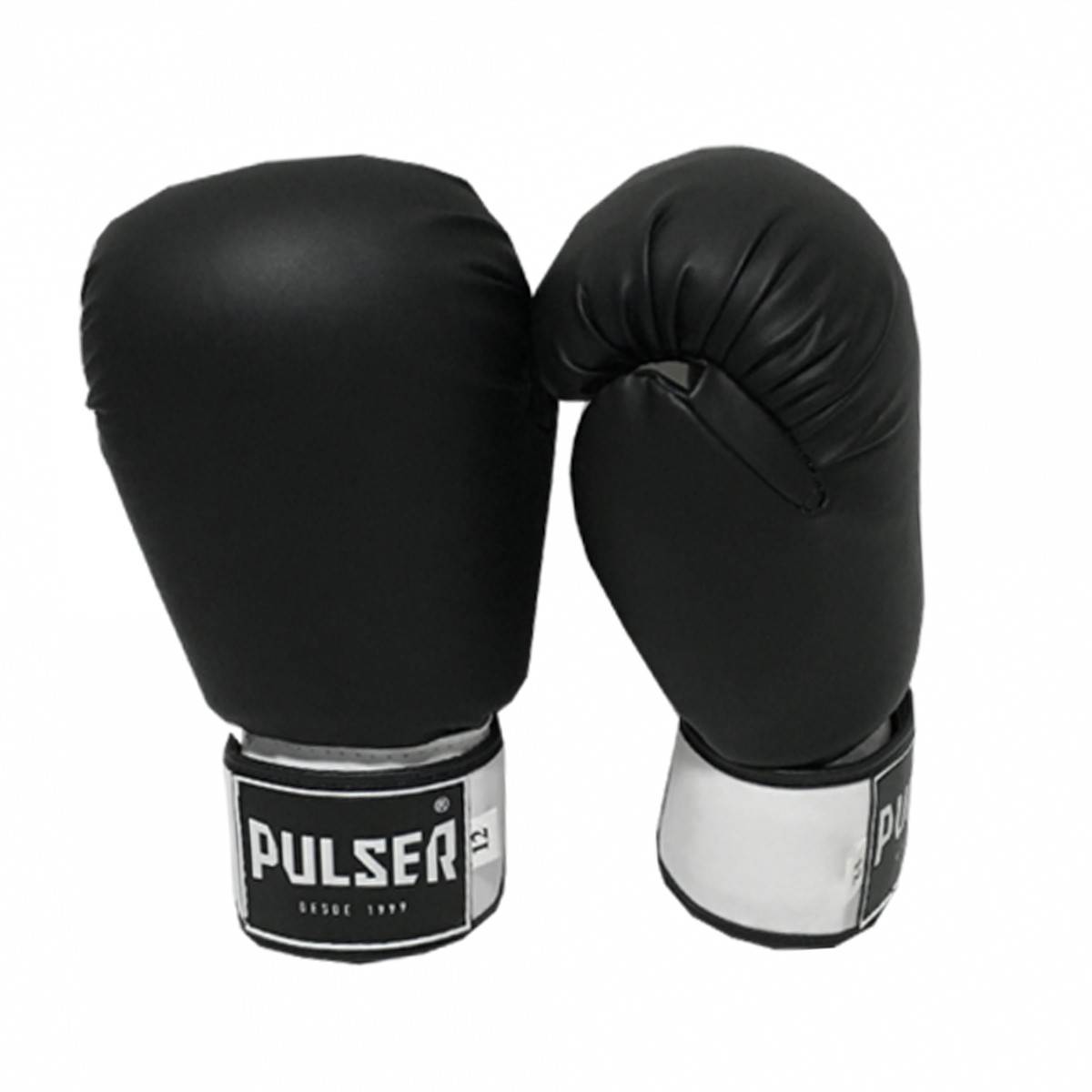 Kit de Muay Thai / Kickboxing 12oz - Preto - Pulser  - PRALUTA SHOP