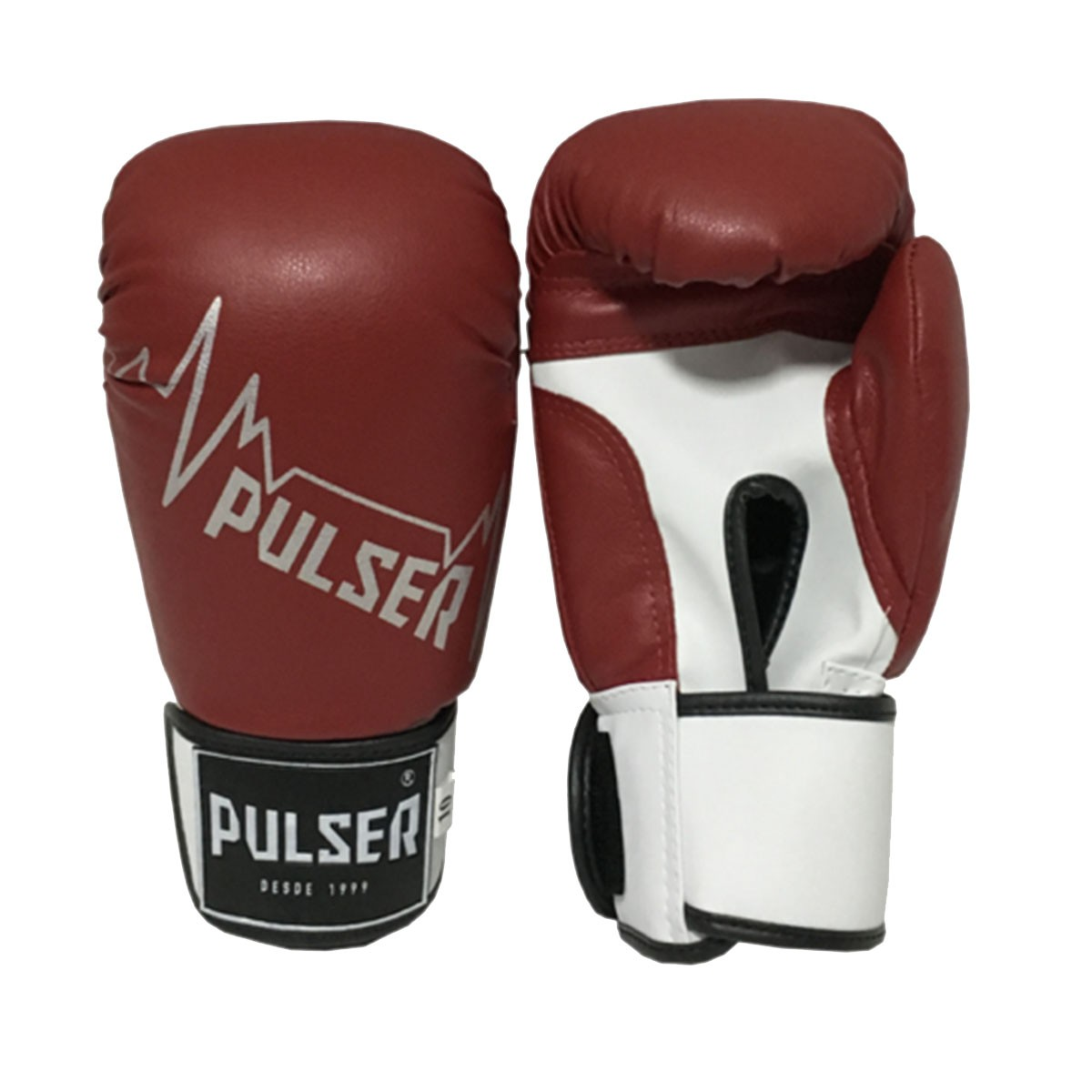 Kit de Muay Thai / Kickboxing 14oz - Vermelho Pulsar - Pulser  - PRALUTA SHOP
