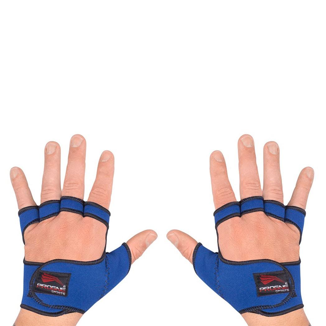 Luva De Academia Neoprene - Azul - Progne  - PRALUTA SHOP