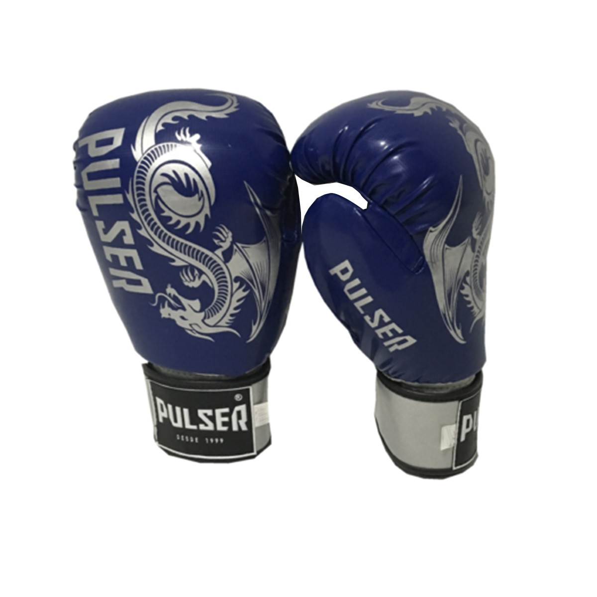 Luva de Boxe / Muay Thai 10oz - Dragão Azul Escuro - Pulser  - PRALUTA SHOP