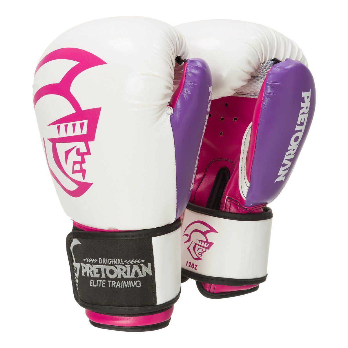 Luva de Boxe / Muay Thai 10oz Feminina - Rosa - Elite Training - Pretorian  - PRALUTA SHOP