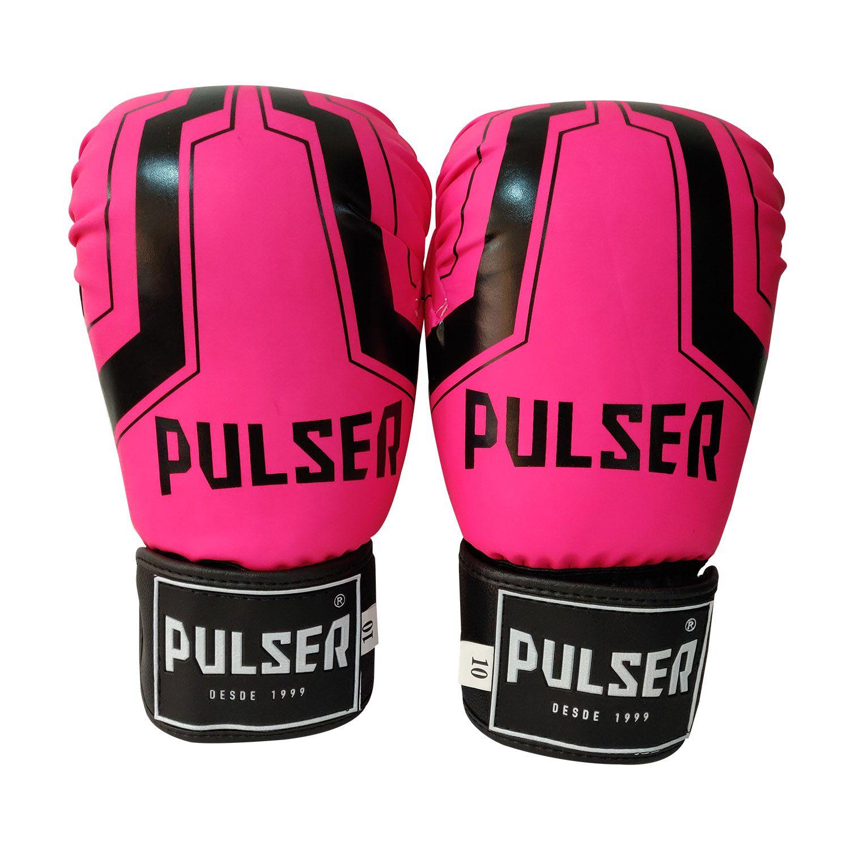 Luva de Boxe / Muay Thai 10oz Feminina - Rosa Iron - Pulser  - PRALUTA SHOP
