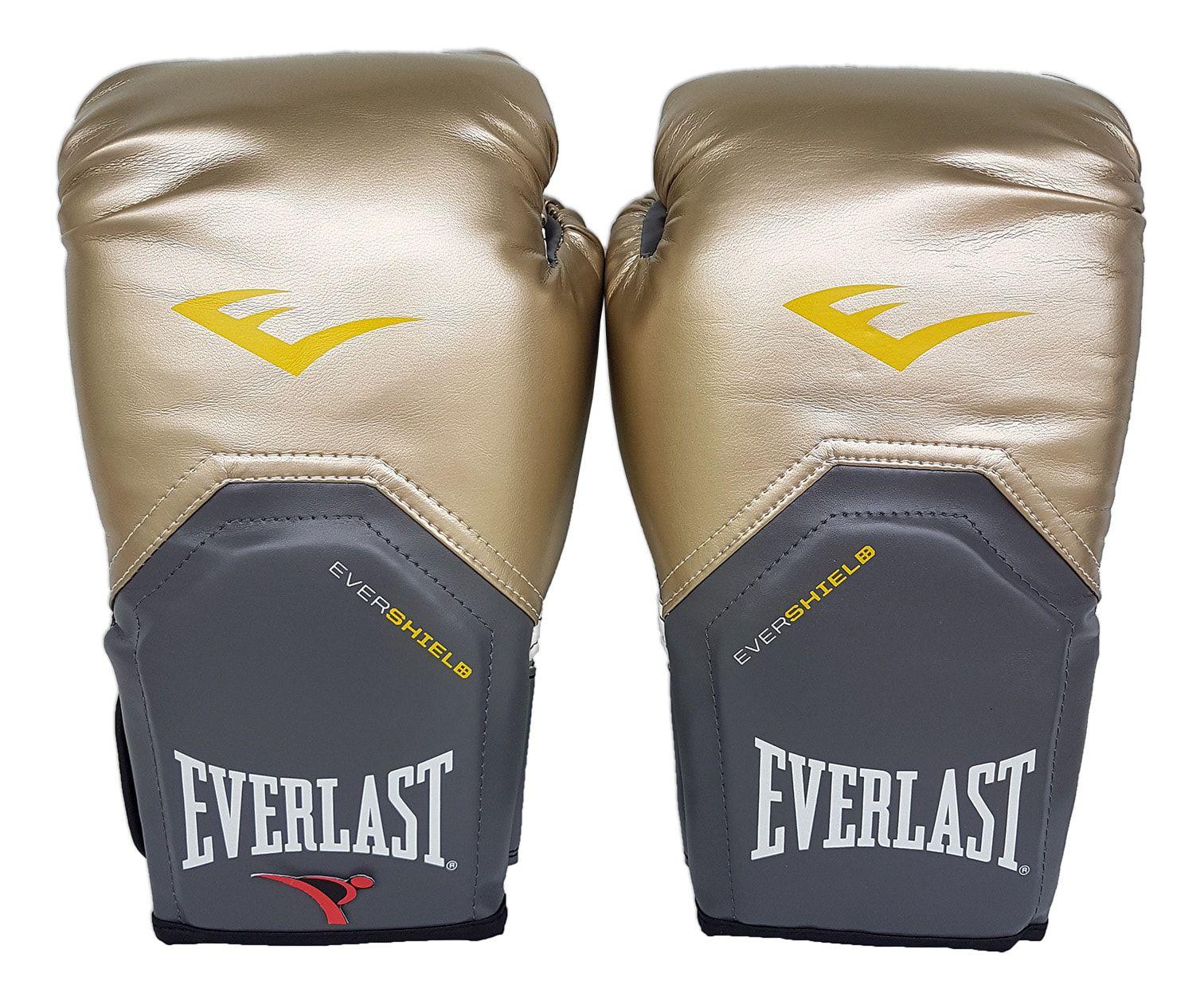 145ebb8209998 Luva de Boxe   Muay Thai 12oz - Dourado - Pro Style - Everlast - PRALUTA ...