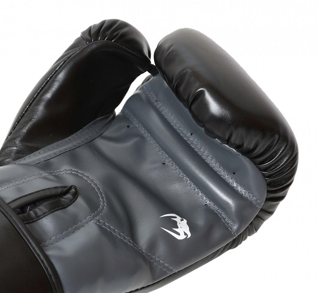 Luva de Boxe / Muay Thai 12oz - Preto - New Contender - Venum  - PRALUTA SHOP