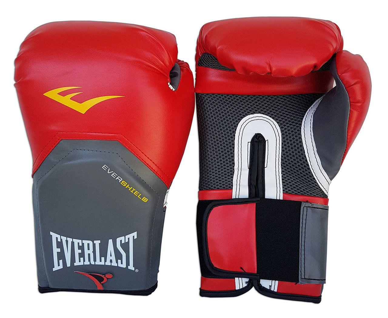 Luva de Boxe / Muay Thai 12oz - Vermelho - Pro Style - Everlast  - PRALUTA SHOP
