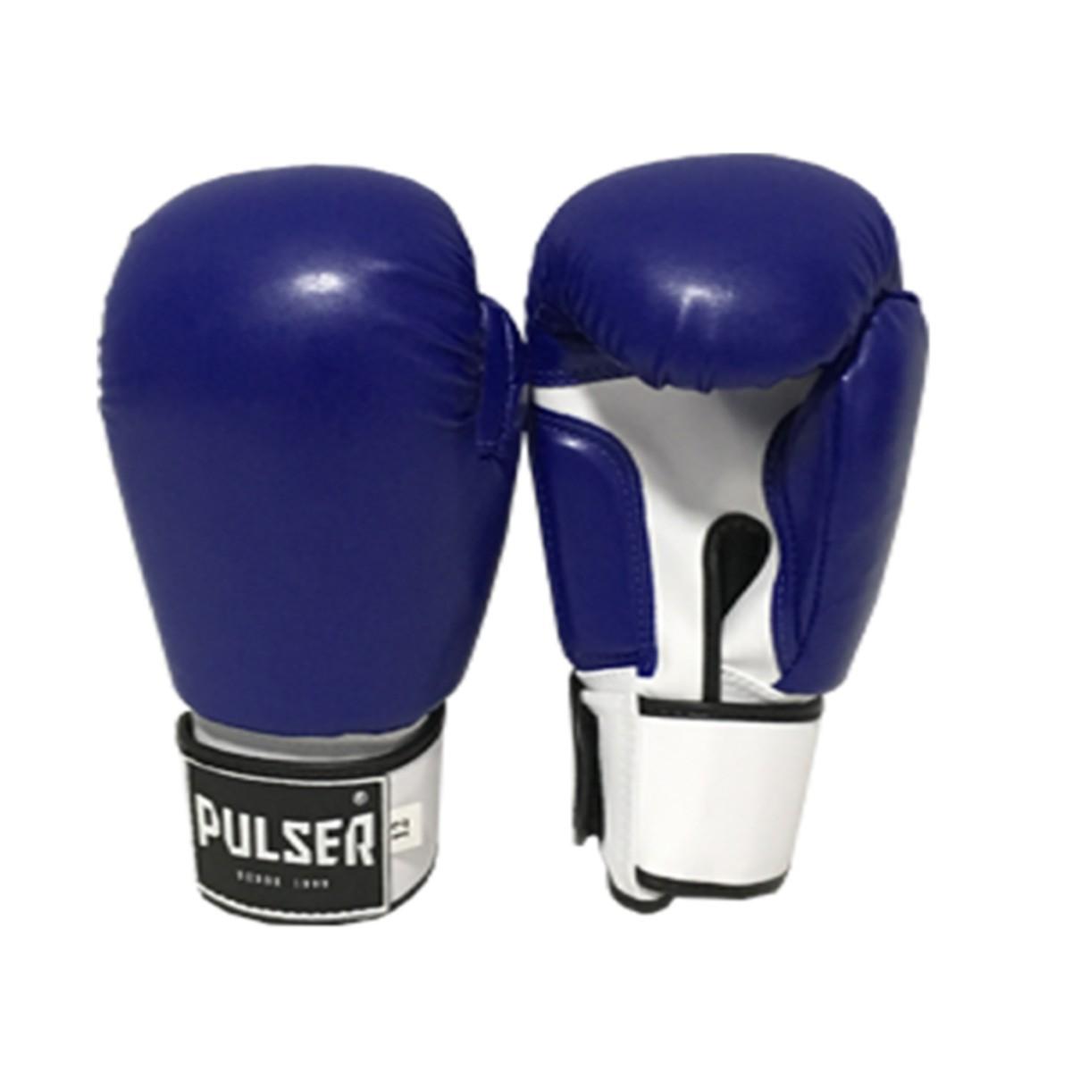 Luva de Boxe / Muay Thai 14oz - Azul - Pulser  - PRALUTA SHOP